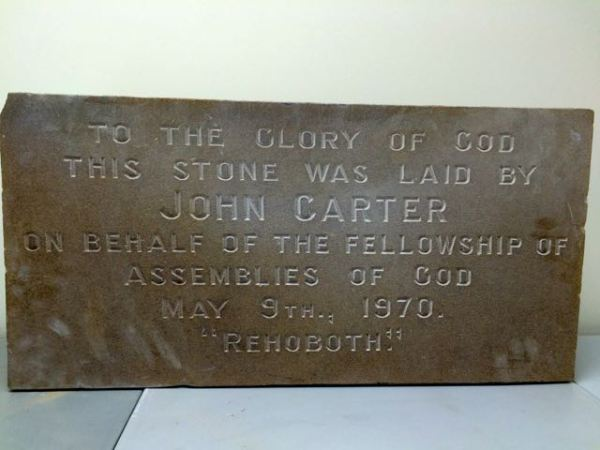 John Carter stone